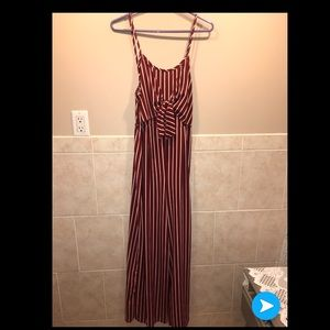 Romper with long pant bottom